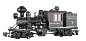 Bachmann 2-Truck Climax Bayside Lumber Co. #3 G Scale Model Train Steam Locomotive #85096