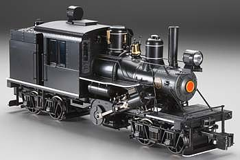 Bachmann 2-Truck Climax Painted, Unlettered -- G Scale Model Train Steam Locomotive -- #85097
