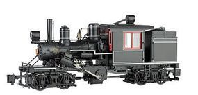 Bachmann 2-Truck Climax Painted, Unlettered G Scale Model Train Steam Locomotive #85098