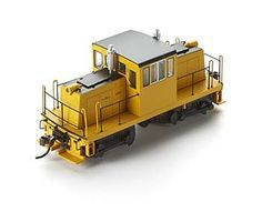 Bachmann Spectrum GE 45 Ton Unlettered Black/Yellow HO Scale Model Train Diesel Locomotive #85207