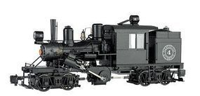Bachmann 2-Truck Climax Elk River Coal & Lumber Co. #4 G Scale Model Train Steam Locomotive #86094