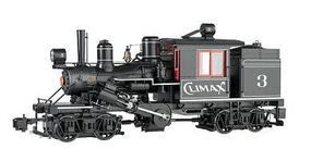 Bachmann 2-Truck Climax Climax Manufacturing Co. #3 G Scale Model Train Steam Locomotive #86095