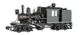 Bachmann 2-Truck Climax Painted, Unlettered G Scale Model Train Steam Locomotive #86097