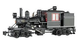 Bachmann 2-Truck Climax Painted, Unlettered G Scale Model Train Steam Locomotive #86098