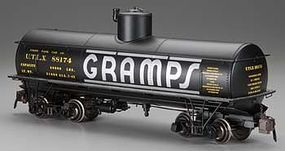 Bachmann Spectrum(R) 1-20.3 Scale Frameless Tank Car Ready to Run Gramps #88169 G Scale #88493