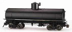 Bachmann Spectrum(R) 1-20.3 Frameless Tank Car Unlettered, Painted (black) G Scale #88497