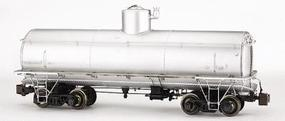 Bachmann Frameless Tank Car Spectrum(R) Unlettered, Painted (silver) G Scale #88498