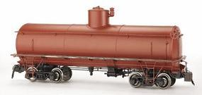Bachmann Frameless Tank Car Unlettered, Painted (Oxide Red) Spectrum(R) G Scale #88499