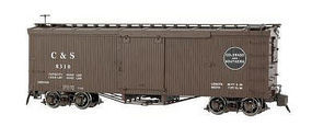 Bachmann Double-Sheathed Wood Boxcar Colorado & Southern G Scale Model Train Freight Car #88695