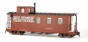 Bachmann Long Caboose Lighted & Detailed Interior G Scale Spectrum Rio Grande Southern #88796