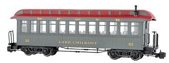 Bachmann Jksn Sharp Pass Coach WP&YR Lake Chilkoot #204 G