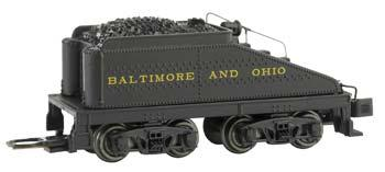 Bachmann USRA Slope-Back Tender DCC Ready Baltimore & Ohio -- N Scale Model Train Steam Locomotive -- #89654