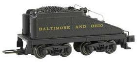 Bachmann USRA Slope-Back Tender DCC Ready Baltimore & Ohio N Scale Model Train Steam Locomotive #89654