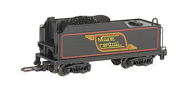 Bachmann USRA Medium Tender - DCC Ready - Maine Central -- N Scale Model Train Steam Locomotive -- #89754