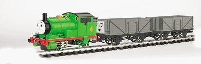 Bachmann Percy & Troublesome Trucks Set -- G Scale Thomas-the-Tank Electric Train Set -- #90069