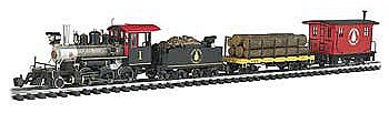Bachmann North Woods Logger Set G Scale Model Train Set #90122
