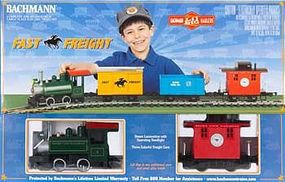 Bachmann Lil Big Haulers Fast Freight Set G Scale Model Train Set #90196