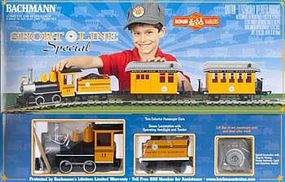 Bachmann Lil Big Haulers Short Line Special Set G Scale Model Train Set #90197