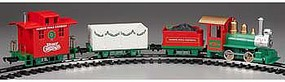 Bachmann Lil Big Haulers North Pole Express Set G Scale Model Train Set #90198