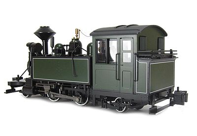 Bachmann 2-4-2T Steam Locomotive -- DCC Ready -- Painted, Unlettered -- G Scale -- #91199