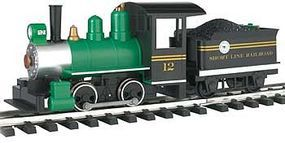 Bachmann Lil Big Haulers Loco w/Tender Short Line RR G Scale Model Train Steam Locomotive #91498