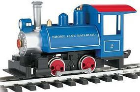 Bachmann Lil Big Haulers Tank Engine Short Line RR G Scale Model Train Steam Locomotive #91499