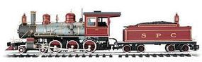 Bachmann 4-6-0 Anniversary Edition South Pacific Coast #22 G Scale Model Train Set #91604