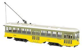 Bachmann Peter Witt Streetcar with DCC G Scale Trolley and Hand Car #91702