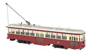 Bachmann Peter Witt Streetcar with DCC Toronto G Scale Trolley and Hand Car #91703