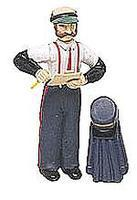 Bachmann Station Agent with Coat & Hat G Scale Model Railroad Figure #92313