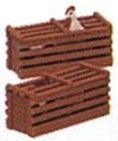 Bachmann Chicken Crates pkg(2) G Scale Model Railroad Building Accessory #92412