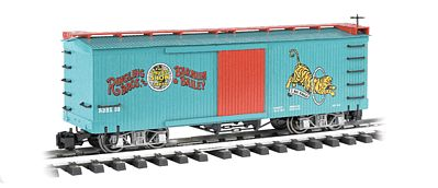 Bachmann Ringling Bros Box Car Tiger #32 -- G Scale -- Model Train Freight Car -- #92715
