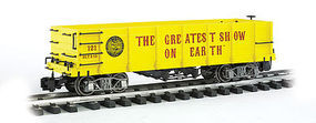 Bachmann Gondola #121 Ring Bros G Scale Model Train Freight Car #92718