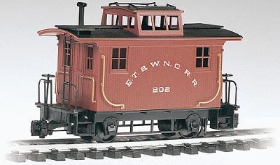 Bachmann Bobber Caboose ET&WNC -- G Scale Model Train Freight Car -- #93120