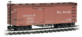 Bachmann Box Car Denver & Rio Grande Western G Scale Model Train Freight Car #93301