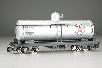 Bachmann Tank Car Texaco TCX #422 (silver, white, red Star Logo) -- G Scale Model Train Freight Car -- #93432