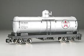 Bachmann Tank Car Texaco TCX #422 (silver, white, red Star Logo) G Scale Model Train Freight Car #93432