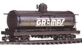Bachmann Tank Car Gramps UTLX #11050 G Scale Model Train Freight Car #93445