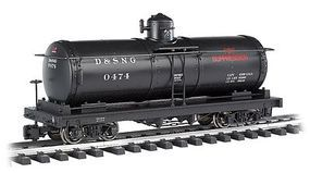 Bachmann Tank Car Durango & Silverton #0474 (Fire Prevention) G Scale Model Train Freight Car #93471