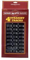 Bachmann 12 Straight (4) G Scale Steel Model Train Track #94511