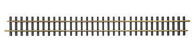 Bachmann Track 3' Straight (12) -- G Scale Brass Model Train Track -- #94652