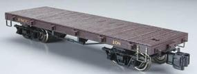 Bachmann 20 Flatcar with Metal Wheels Florence & Cripple Creek (yellow) - G-Scale