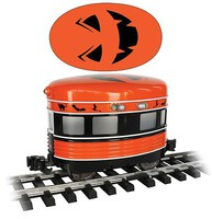 Bachmann Eggliner - Standard DC Halloween (orange, black) - G-Scale