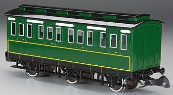 Bachmann Rolling Stock - Emily's Coach -- G Scale Model Train Passenger Car -- #97003