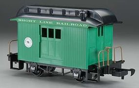Bachmann Wood Baggage Car Lil Big Haulers Short Line Railroad G Scale Model Train Passenger Car #97092