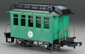 Bachmann Wood Coach Lil Big Haulers - Short Line Railroad G Scale Model Train Passenger Car #97093