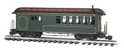 Bachmann Jackson Sharp w/Metal Wheels Combine Painted -- G Scale Model Train Passenger Car -- #97103