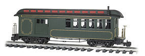 Bachmann Jackson Sharp w/Metal Wheels Combine Painted G Scale Model Train Passenger Car #97103