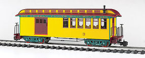 Bachmann Jackson Sharp w/Metal Wheels Combine Grizzly Flats G Scale Model Train Passenger Car #97105