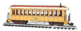 Bachmann Jackson Sharp w/Metal Wheels Coach E&P G Scale Model Train Passenger Car #97207